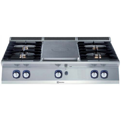 Linha de Cozinha Modular 700XP Top Gás Sólido com 4 Queimadores