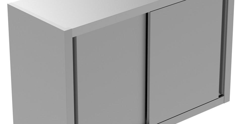 Armário de Parede em Preparação Estática 1000 mm com 2 Portas Deslizantes 134076 Armário de parede com 1 prateleira e 2 portas de correr, 1000mm