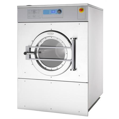 W4350X Estrutura não suspensa, 350 l, fator G 220, extrator de lavadora com carregamento frontal com microprocessador Clarus totalmente programável
