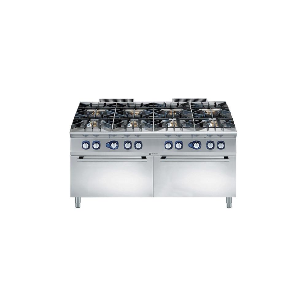 Linha de Cozinha Modular 900XP Gama de Queimadores de 8 Queimadores com 2 Fornos a Gás