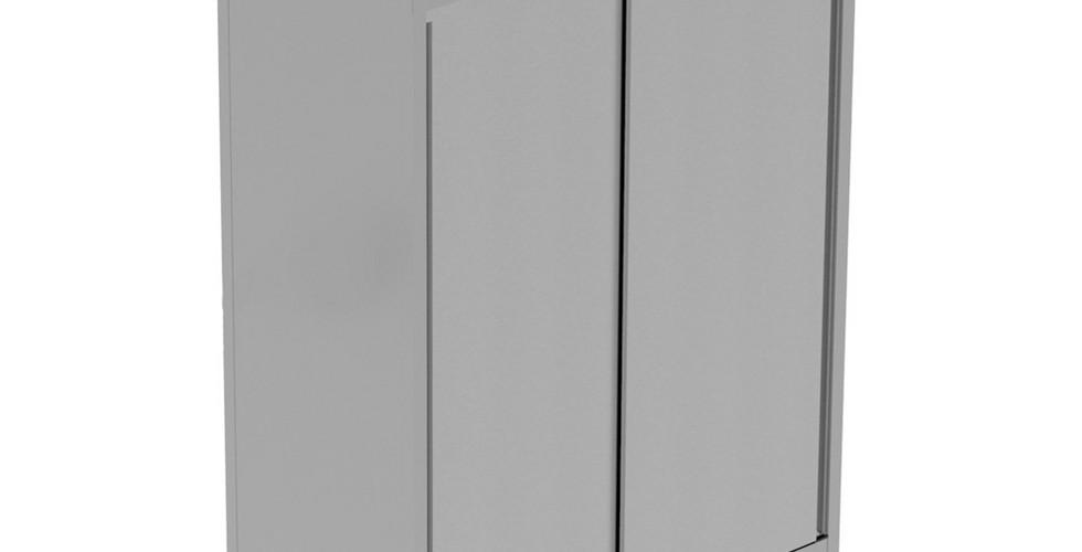 Armário de arrumação, com 2 prateleiras e 2 portas de correr, 1400mm