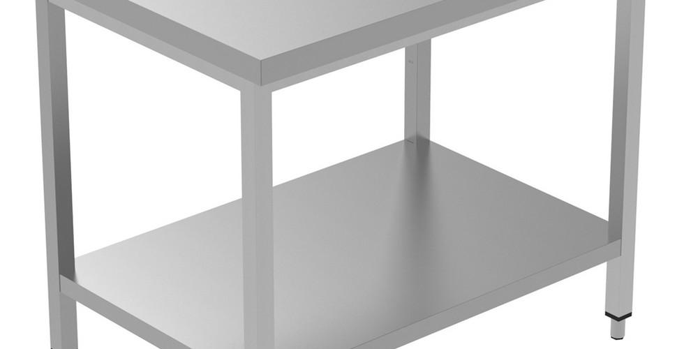 Preparação Estática  Mesa de trabalho de 1200 mm com prateleira inferior 134084 Mesa de trabalho com prateleira inferior, 1200mm