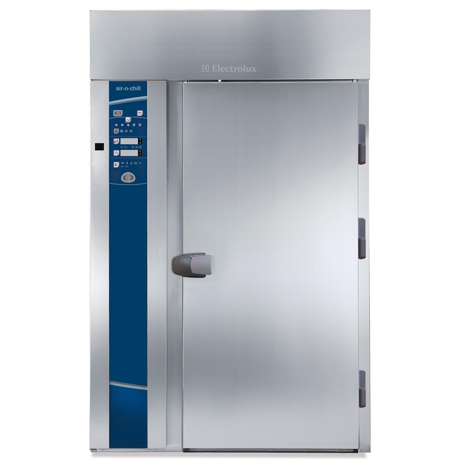 Resfriador rápido e congelador Roll-in 180kg, 20GN 2/1, pré-configurado para unidade de resfriamento remoto com USB