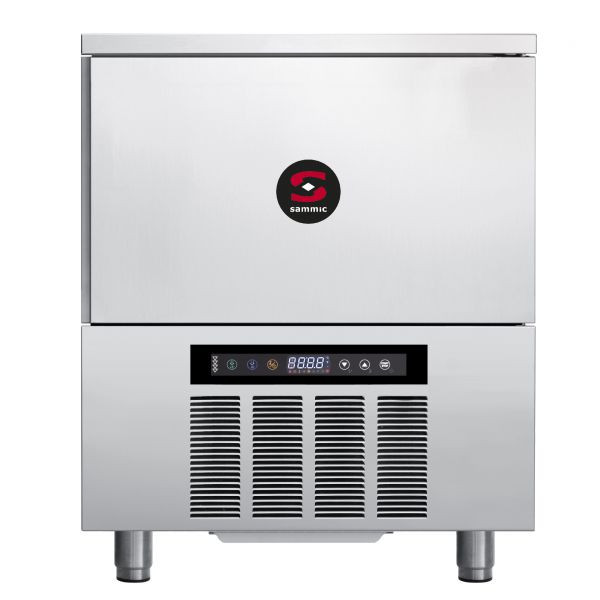 Abatedor de temperatura AB-5 Capacidade: 5 x GN 1/1 (68 mm entre bandejas)