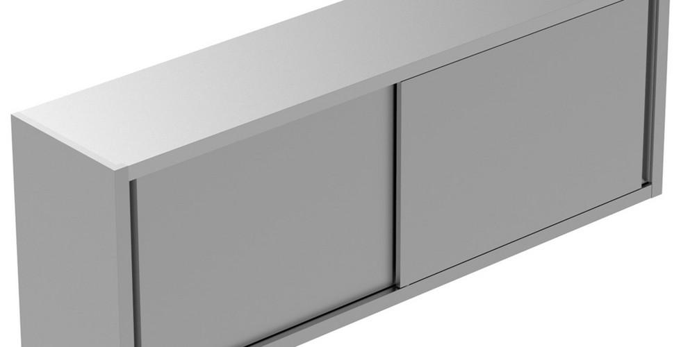 Armário de Parede Static Preparation 1800 mm com 2 Portas Deslizantes 134080 Armário de parede com 1 prateleira e 2 portas de correr, 1800mm