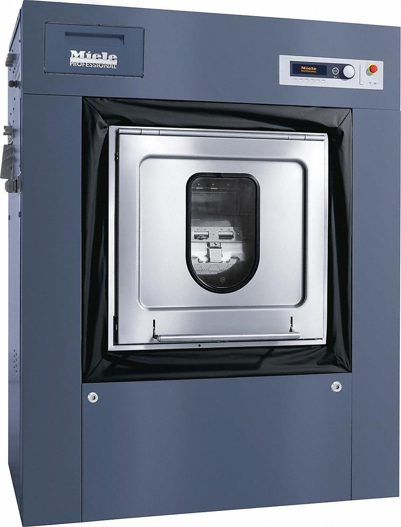 Máquina de lavar roupa com barreira sanitária (indiretamente) na versão c/ barr. sanitária p/ lares de idosos, casas de repouso e hospitais.