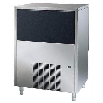 Máquina de fazer gelo, cubo, 65 kg / 24h, independente, caixa de coleta de gelo de 40 kg incluída, refrigerada a água