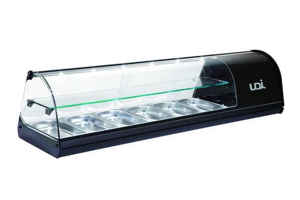 VITRINE REFRIGERADA 2 PLANOS UDI 4B-VC C/LEDS