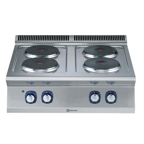 Linha de Cozinha Modular  700XP 4-Hot Plates Elétrica Ferver Top Range