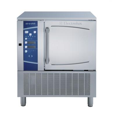 Resfriador rápido / congelador 30 / 25kg, 6xGN1 / 1 ou 600x400mm (18 níveis de passo 20mm) com topo - USB