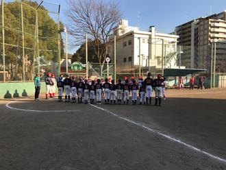 2017/01/28 学童 VS 西中ストロングス