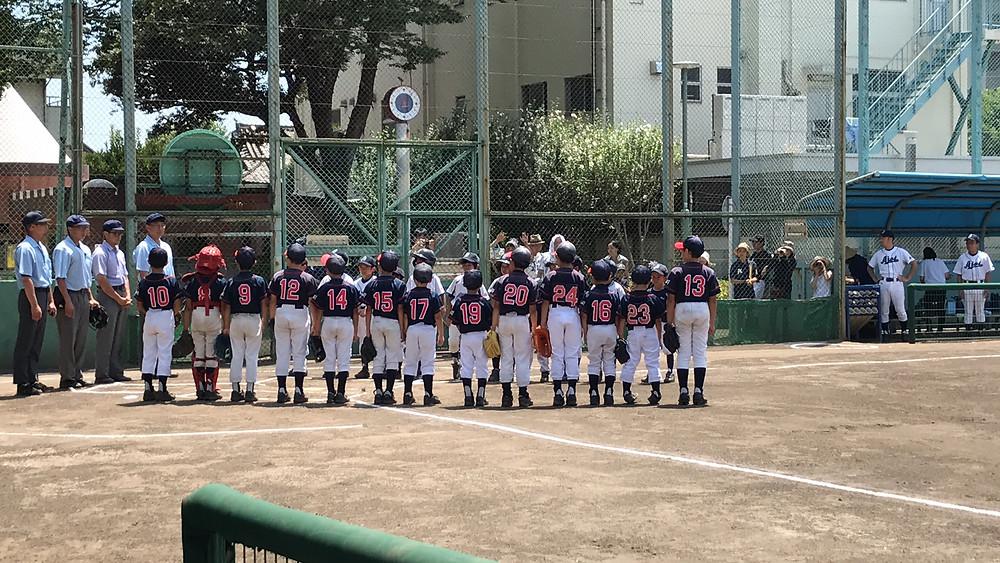 睦クラブ 品川区 少年野球
