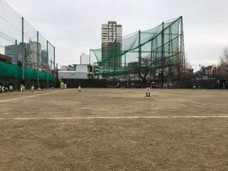 2017/2/5 学童練習試合 VS 目黒ペガサス