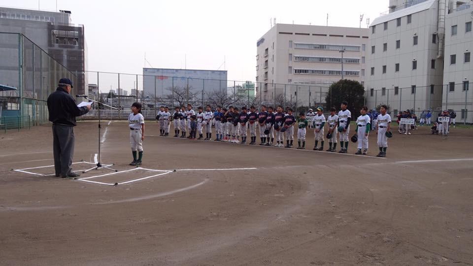 品川区 少年野球 睦クラブ