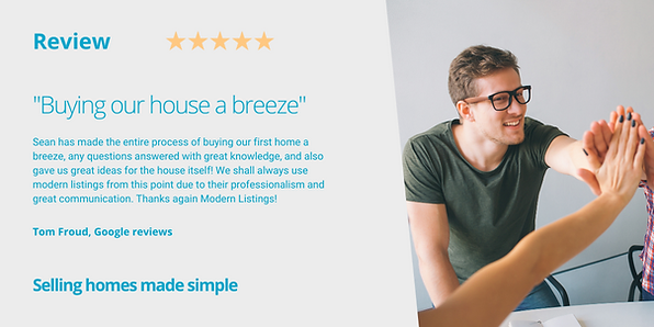 Modern Listings estate agent Poole review