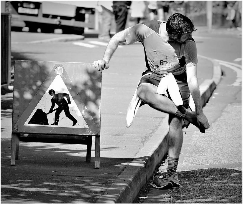 MONO - Man at Walk by Vincent McLaughlin (12 marks)