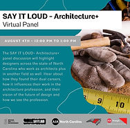 Say It Loud Architecture+