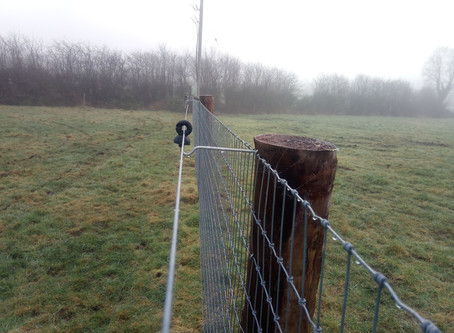 RSS erection of stock proof fencing at Mullahoran GAA grounds