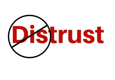The Opposite of Trust is Not Distrust