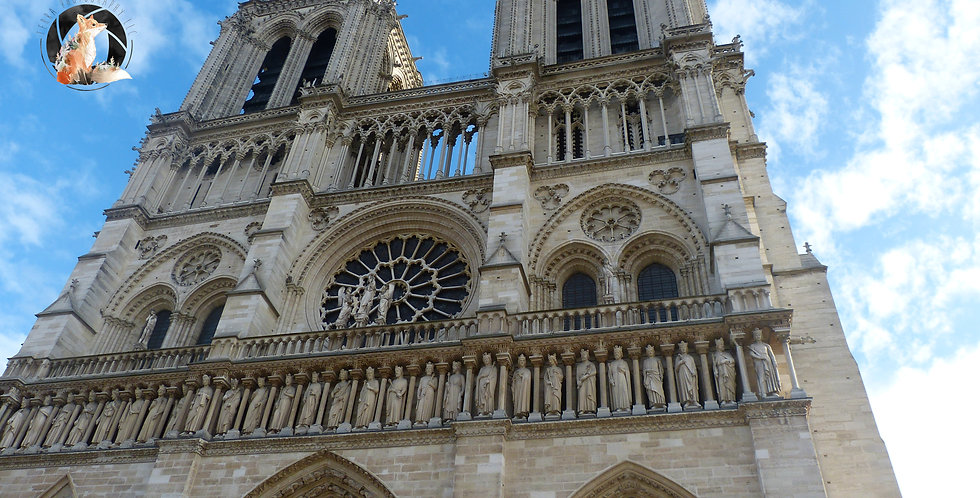 Notre-Dame Print