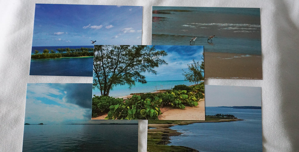 Beach Postcards Set of 10 Variety Pack | Stationery
