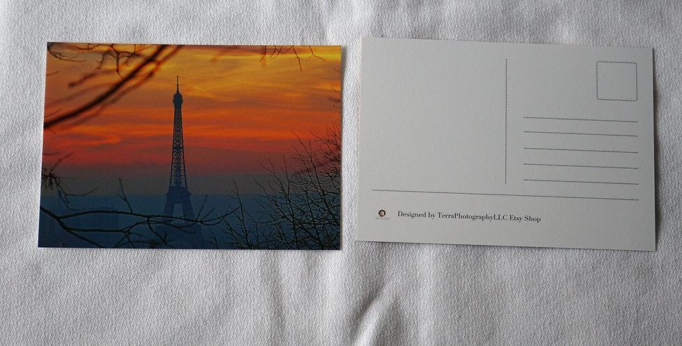 Eiffel Tower Postcards Set of 10 | Stationery