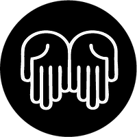 Otevřené Hands Icon