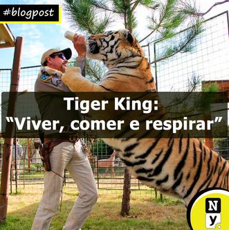 """Tiger King: """"Viver, comer e respirar"""""""