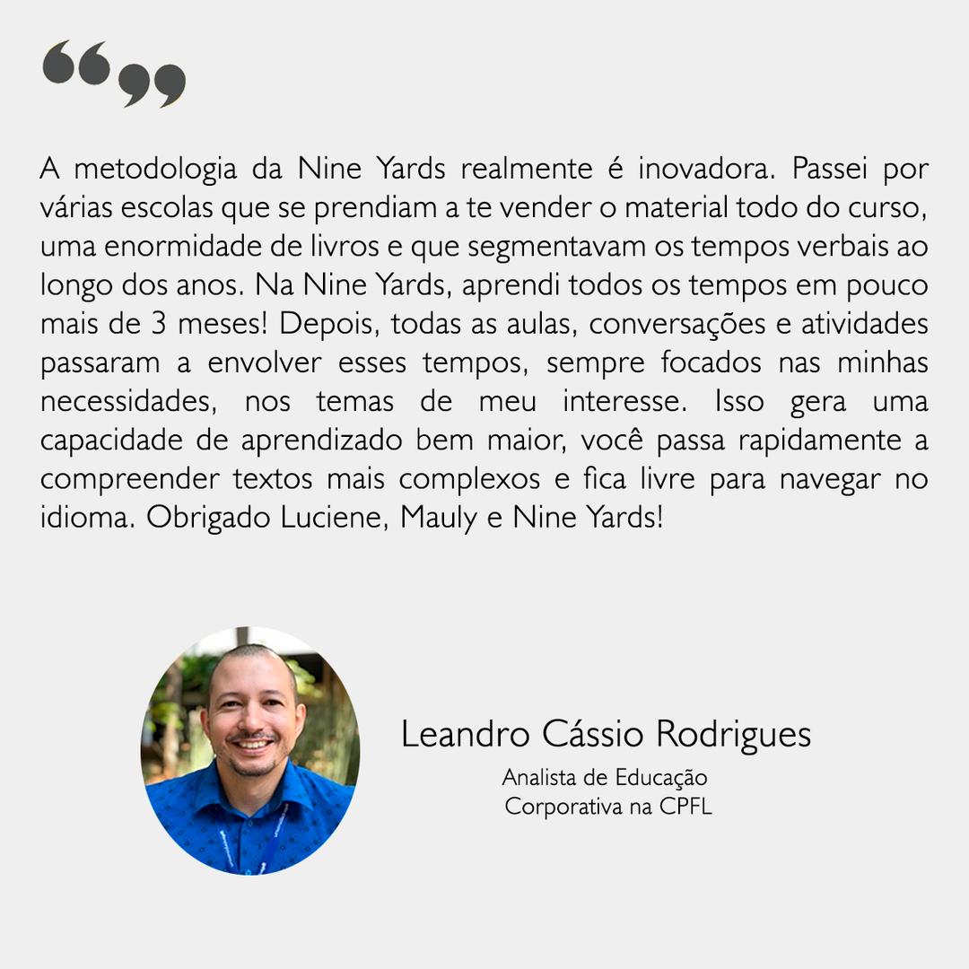Depoimento - Leandro