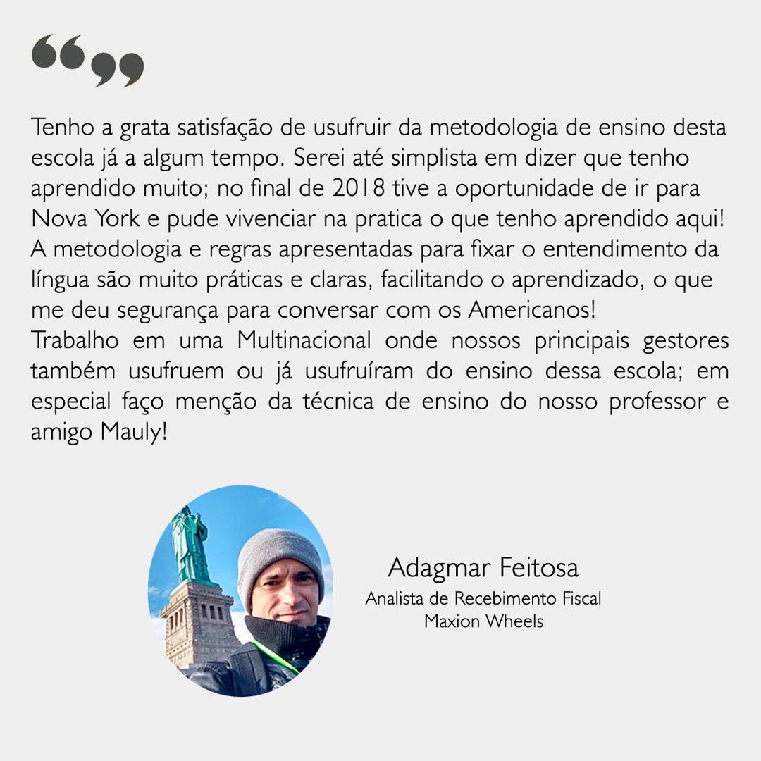 Depoimento - Adagmar
