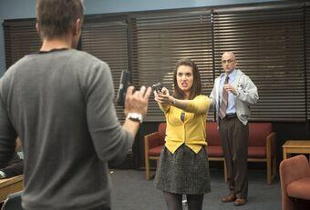 Imagem de cena do episódio Conspiracy Theories and Interior Design de Community