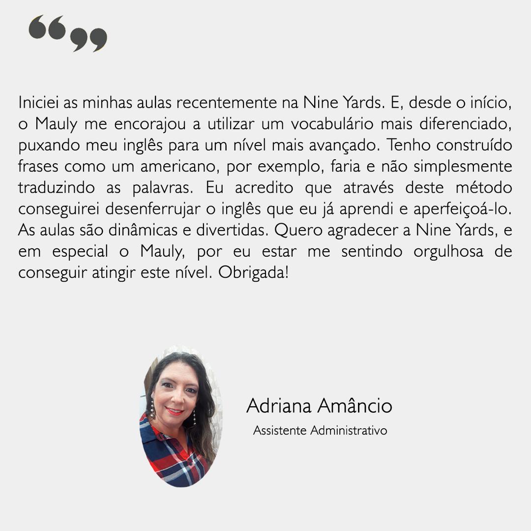 Depoimento - Adriana