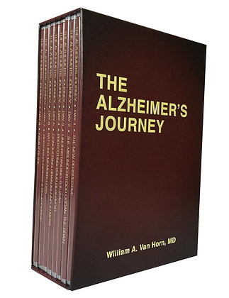 The Alzheimer's Journey DVD Series by William A. Van Horn, MD