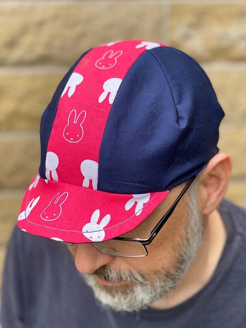 Miffy Cycling cap - blue/pink