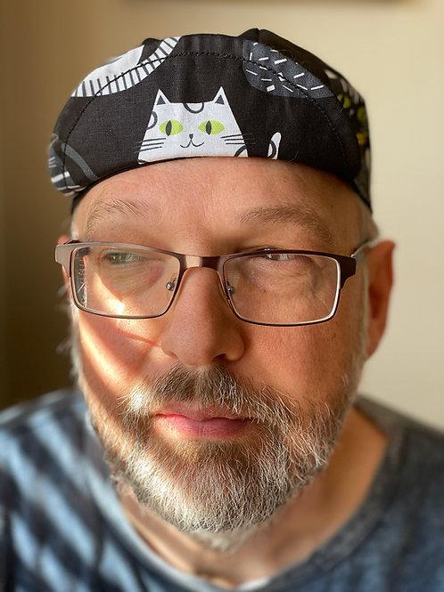 Cats Cycling cap - Black