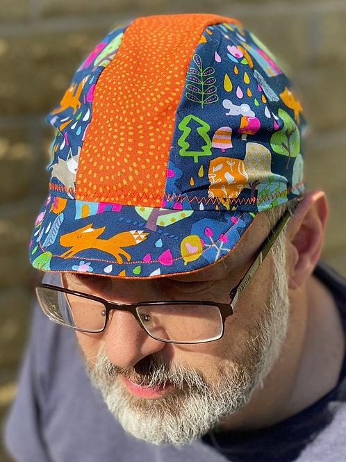 Woodlands Cycling cap - Multi/Orange
