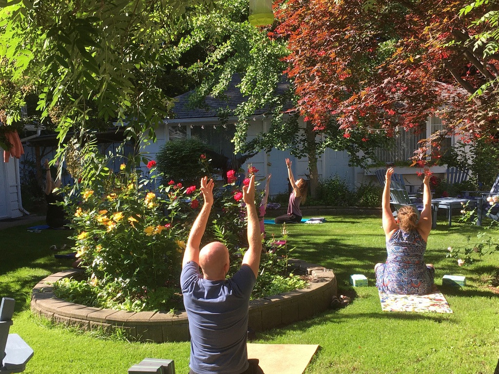 Join us for morning yoga