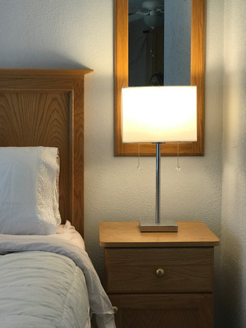 A comfy night's sleep awaits you