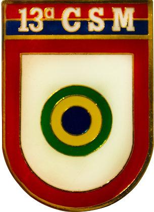 DISTINTIVO DE BOLSO EB 13º CSM