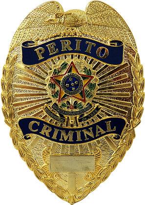 DISTINTIVO DE PEITO PERITO CRIMINAL