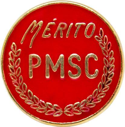 BOTON MÉRITO PMSC - VERMELHO