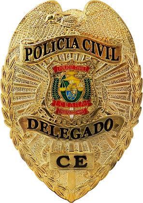DISTINTIVO DE PEITO PCCE DELEGADO