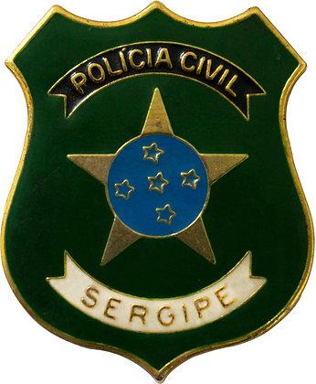 DISTINTIVO DE PEITO POLÍCIA CIVIL SERGIPE
