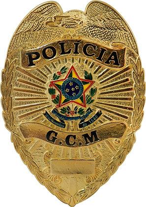 DISTINTIVO DE PEITO POLÍCIA GCM