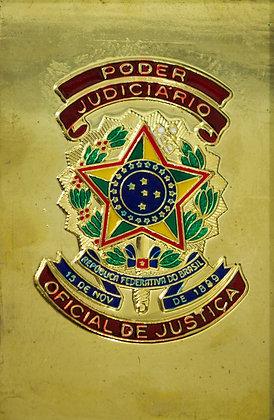 CHAPA CARTEIRA PODER JUDICIÁRIO