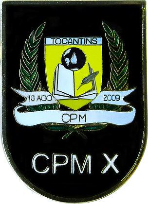 DISTINTIVO DE BOLSO CPM X/ PMTO