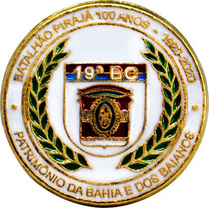 BOTON BATALHÃO PIRAJÁ 100 ANOS