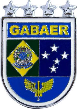 DISTINTIVO DE BOLSO FAB GABAER 4 ESTRELAS