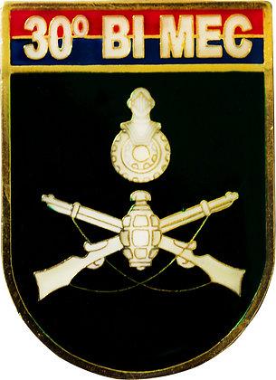 DISTINTIVO DE BOLSO EB 30º BI MEC