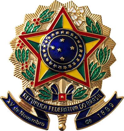 BOTON BRASÃO DA REPÚBLICA